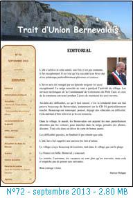 bulletin bernevalais 2013