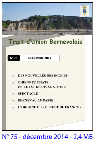 bulletin bernevalais 2014