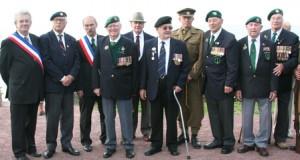 Les vétérans du raid du 19 août 42