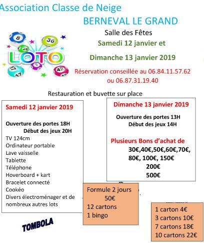 loto janvier 2019